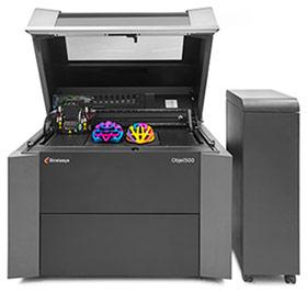 An industrial 3D printer to make high quality 3D prints.