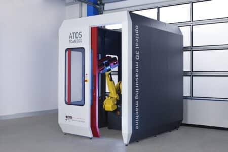 ATOS ScanBox Series 5 GOM - Metrology
