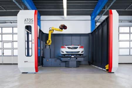 ATOS ScanBox Series 6 GOM - Metrology