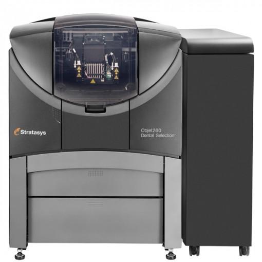 Objet260 Dental Selection Stratasys - 3D printers
