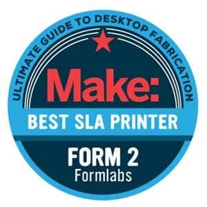 Formlabs Form 2 best SLA 3D printer