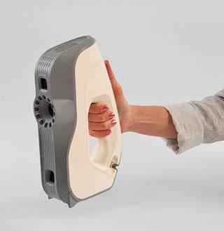 3D scanner Artec Eva, Best 3D scanners for 3D selfies