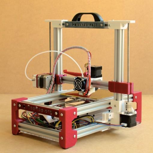 FoldaRap 2.5 Open Edge - 3D printers