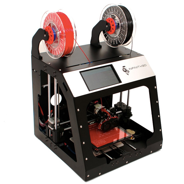 Revolution 3D Printers INFINITY 3D Dual Extruder Review