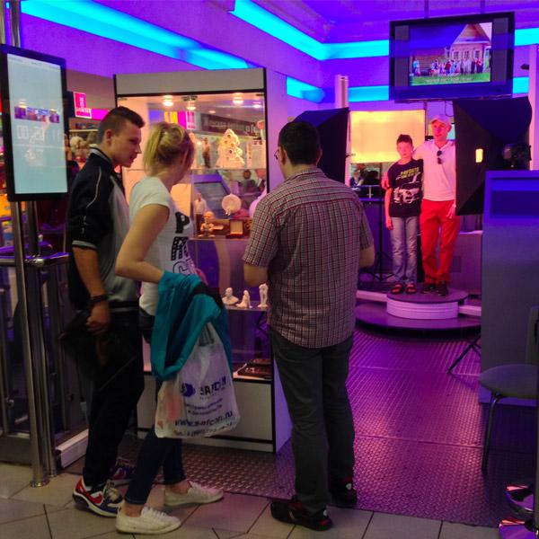 3D scanner Texel Portal people