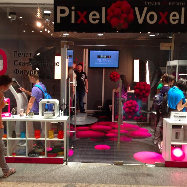 3D scanner Texel Portal pixel voxel