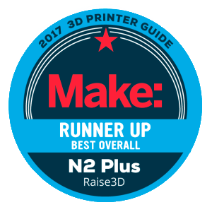 Awards-3D-printer-Make-Runner-up-Best-Overall-N2-Plus-Raise3D-2017