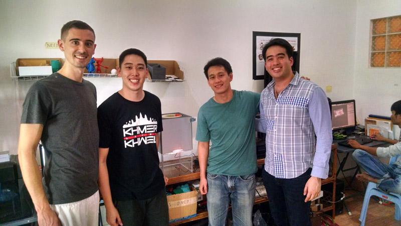 Pirate3D, Arc Hub PNH and Aniwaa teams