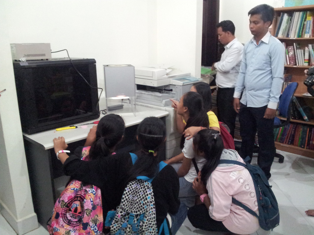 Donation of the Buccaneer 3D printer to the CCF