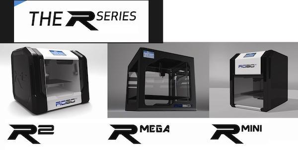 Robo 3D R-series 3D printers