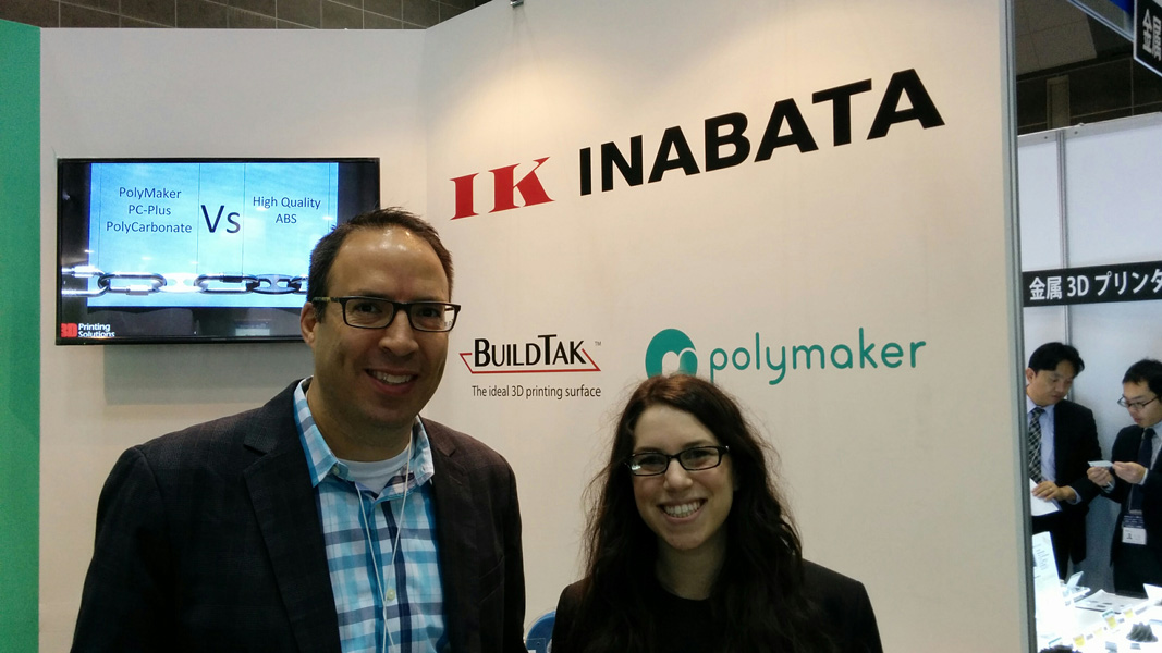 The super friendly BuilTak team : Mike and Kayla