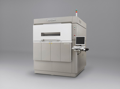 The Ricoh 3D printer