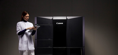 Canon resin 3D printer