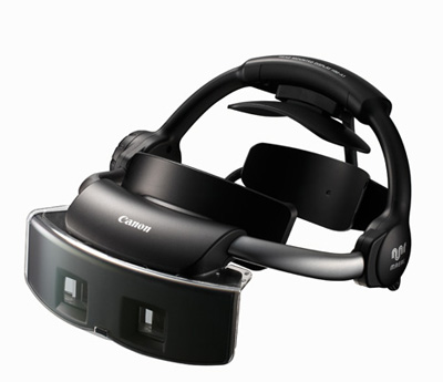 The Canon Mixed Reality HMD