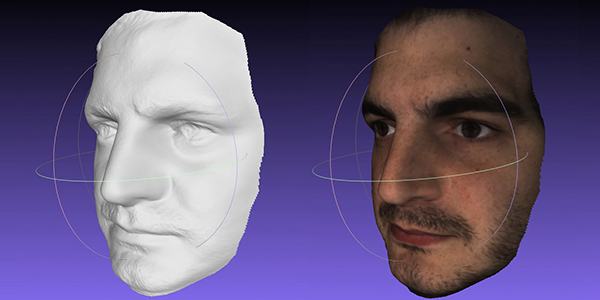 Face 3D scans with the Fuel3D SCANIFY