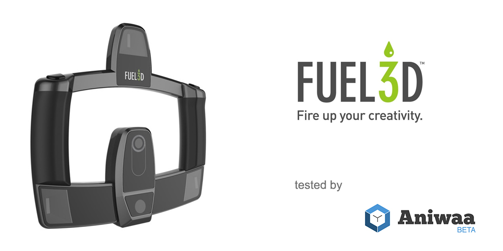[Review] The Fuel3D SCANIFY, a lightweight portable 3D scanner