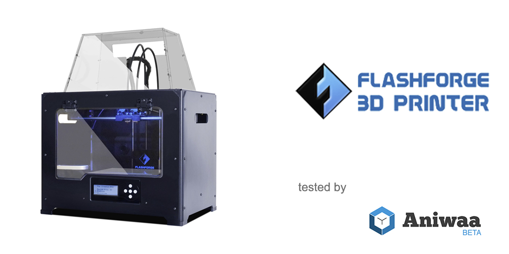 Review] The Flashforge Creator Pro, a dual extruder 3D printer