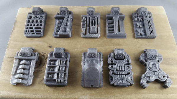 3D Kitbash makes great, super printable files which come out beautifully again and again