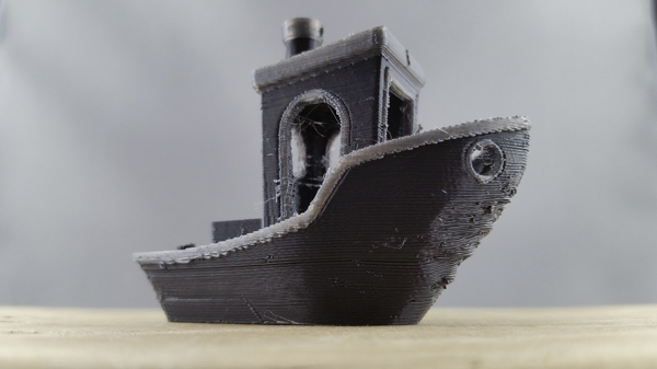 Benchy 3D print with the Flashforge Creator Pro