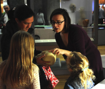 Engaging museum audiences at The Great North Museum