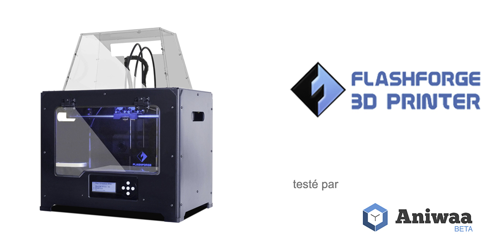 Test Flashforge Creator Pro