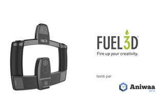 Test Fuel3D SCANIFY