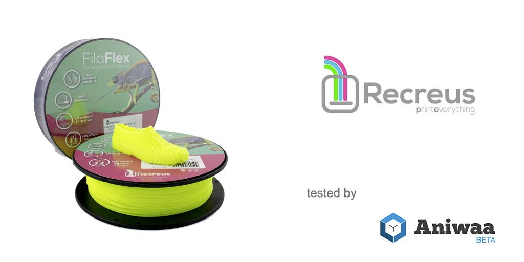 [Review] The Recreus FilaFlex, a great flexible filament for 3D printers
