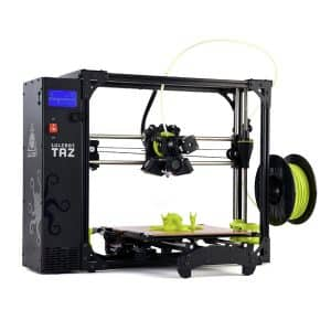 3D printer Lulzbot TAZ 6 perspective