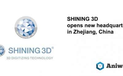 SHINING 3D opens their new Headquarters in Zhejiang