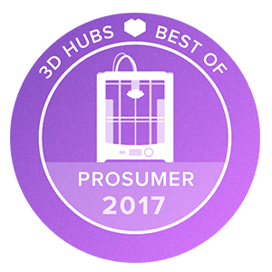 Awards-3D-printer-3D-Hubs-Prosumer-2017
