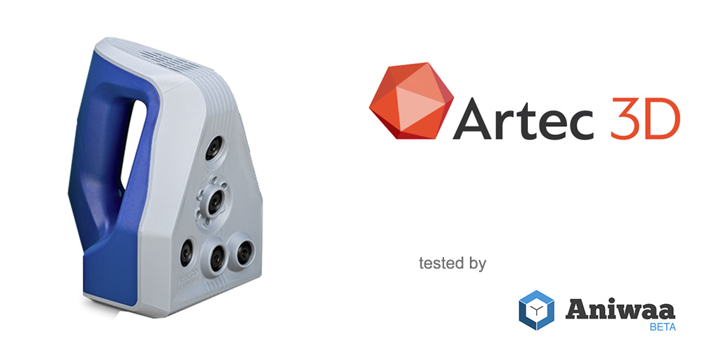 [Hands-on] The Artec Space Spider, a portable 3D scanner