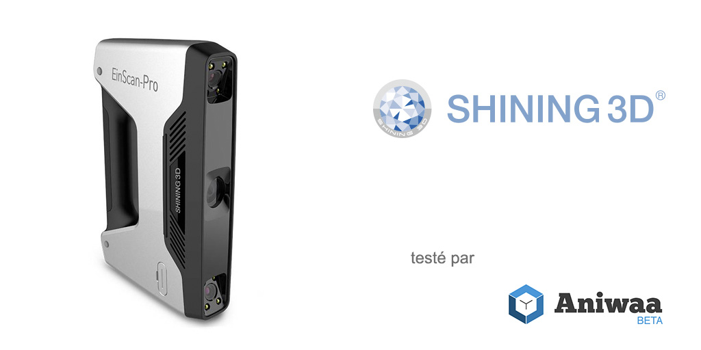 Test Shining 3D EinScan-Pro