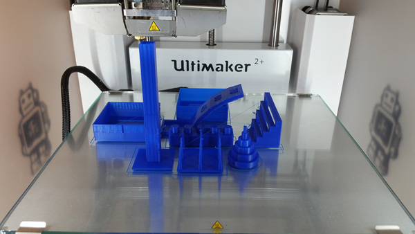 Ultimaker 2+ 3D printing experience.