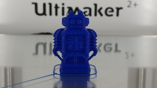 The famous test file Robot by Ultimaker.