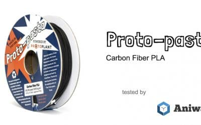 [Review] The Proto-pasta Carbon Fiber PLA, an exotic filament for 3D printers