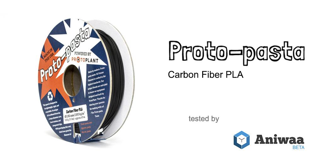 [Review] The Proto-pasta Carbon Fiber PLA, an exotic filament for 3D printers