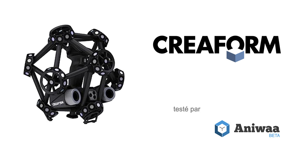 Test du Creaform MetraScan 750