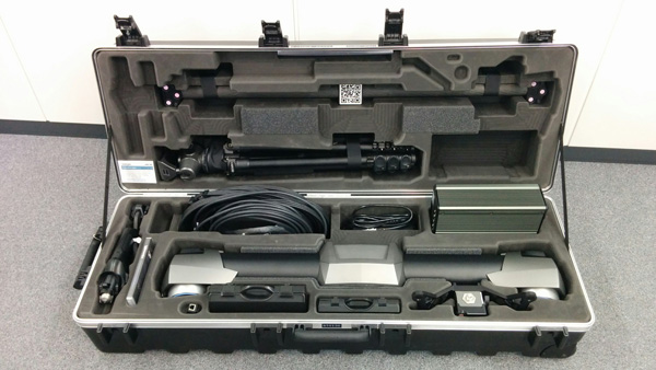 The C-Track transport case.
