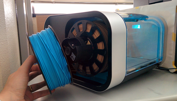 The dual 3D filament configuration with the CEL RoboxDual.