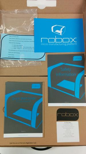 The CEL Robox instruction manual.