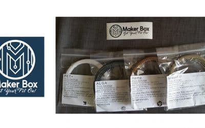 Maker Box delivers 3D filaments samples directly to your doorstep