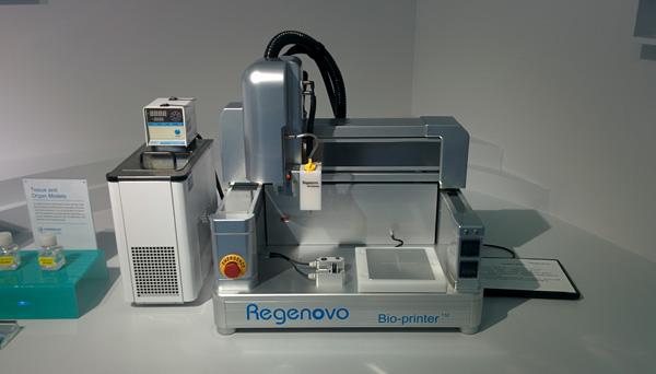 Regenovo 3D bioprinter.