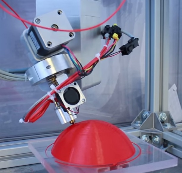 5-axis 3D printer.