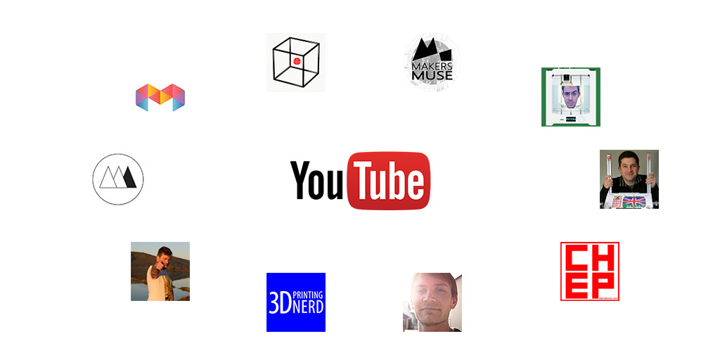 The ultimate list of the best 3D printing Youtube channels