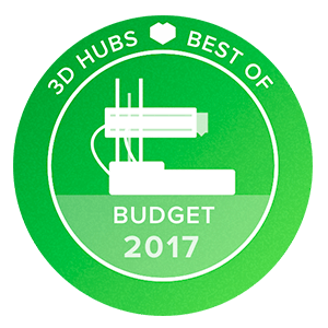 Awards-3D-printer-3D-Hubs-Budget-2017