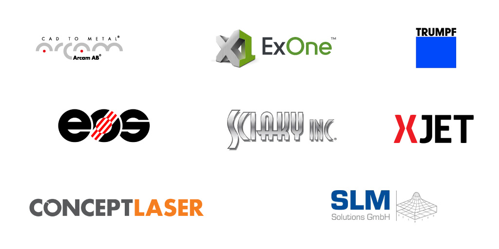The complete list of metal additive manufacturing companies and metal 3D printer brands.