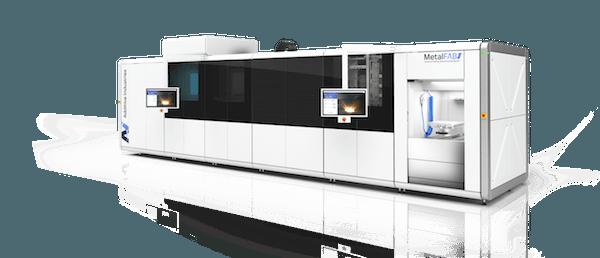The Additive Industries MetalFab1 metal 3D printer.