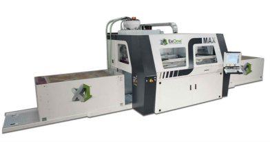 The ExOne S-Max metal 3D printer.