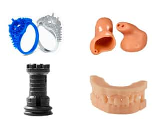 SLA and DLP 3D printing have many applications in very various fields.