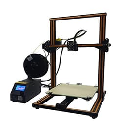 The Creality CR10 is a large volume desktop 3D printer among the best affordable 3D printers.